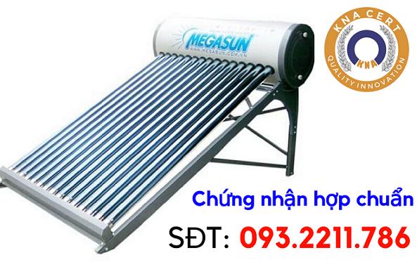 Chứng nhận hợp chuẩn thiết bị đun nước nóng bằng năng lượng mặt trời