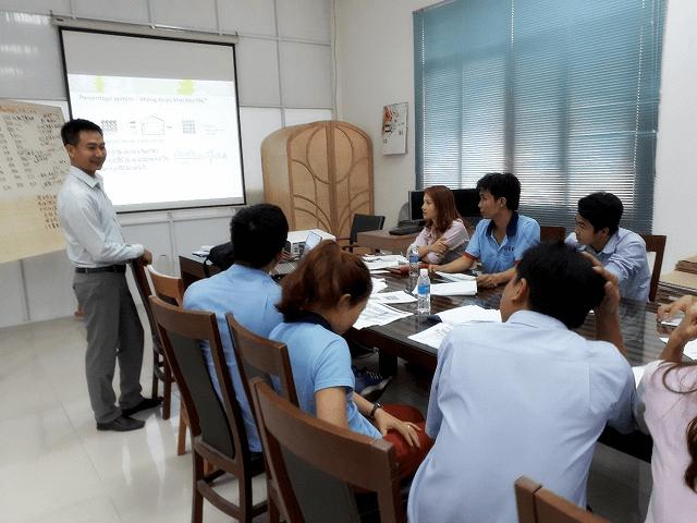 Đào Tạo Nhận Thức FSC/CoC tại Công ty TNHH GHP INTERNATIONAL Việt Nam