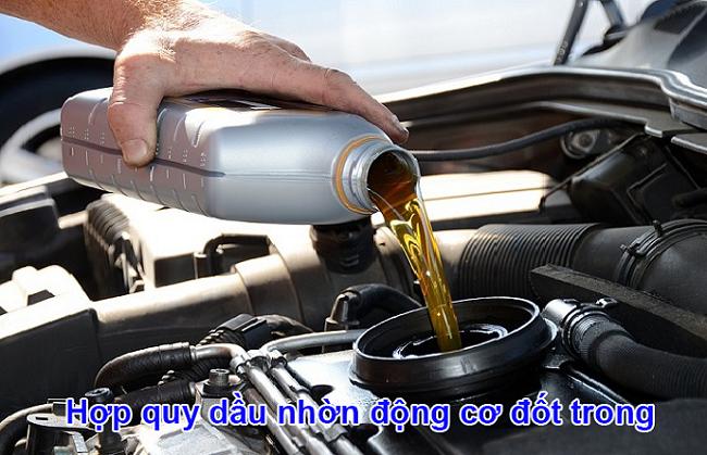 Chứng nhận hợp quy dầu nhờn động cơ đốt trong