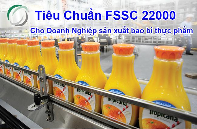 Tiêu chuẩn FSSC 22000 cho Doanh Nghiệp sản xuất bao bì thực phẩm
