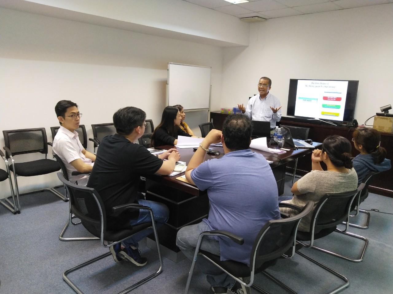 Đào tạo Nhận thức ISO 9001:2015 Công ty TNHH Công Nghiệp D&A Việt Nam