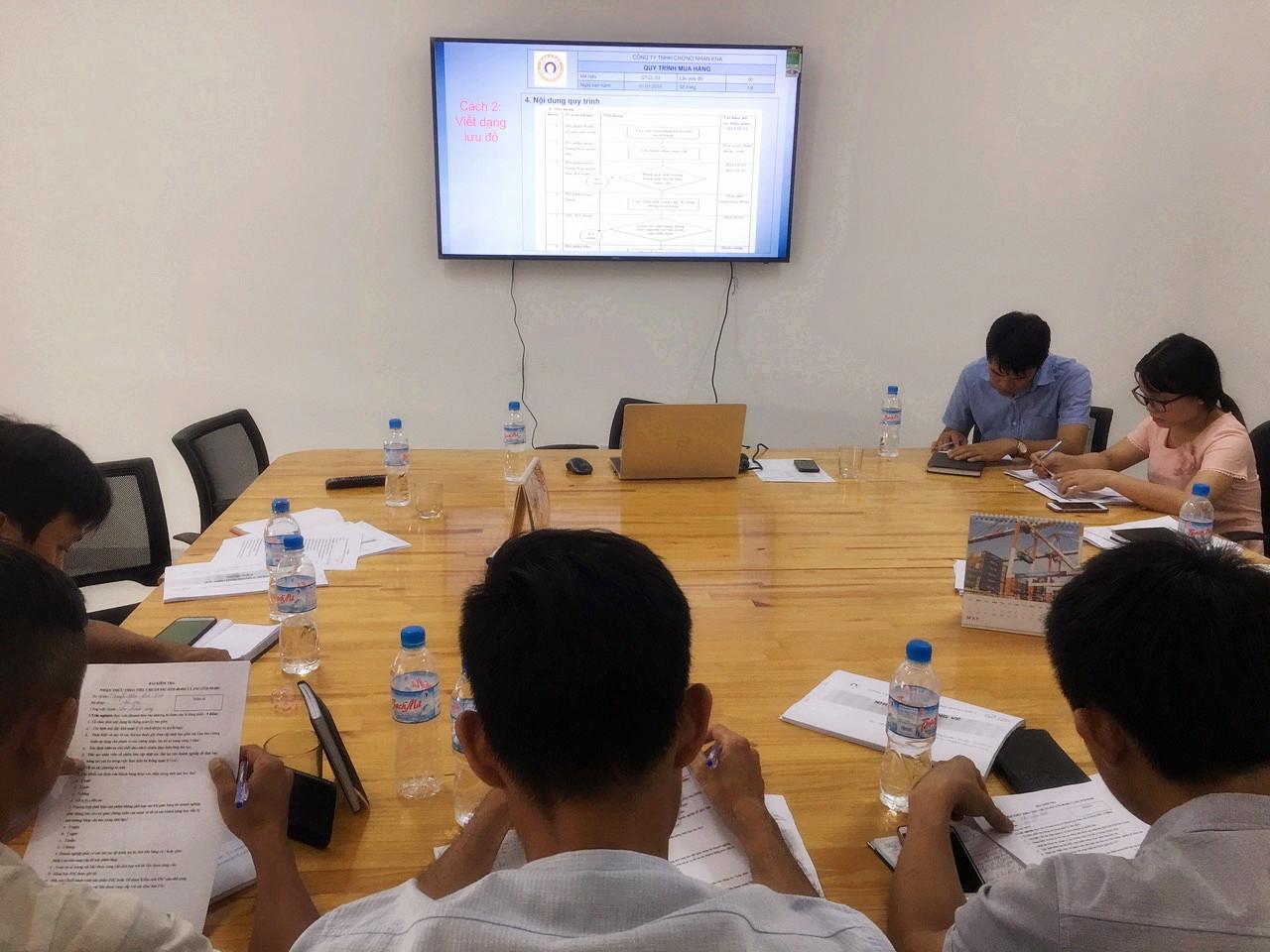 Đào tạo nhận thức FSC/CoC cho Công ty TNHH LEE & PARK WOOD COMPLEX
