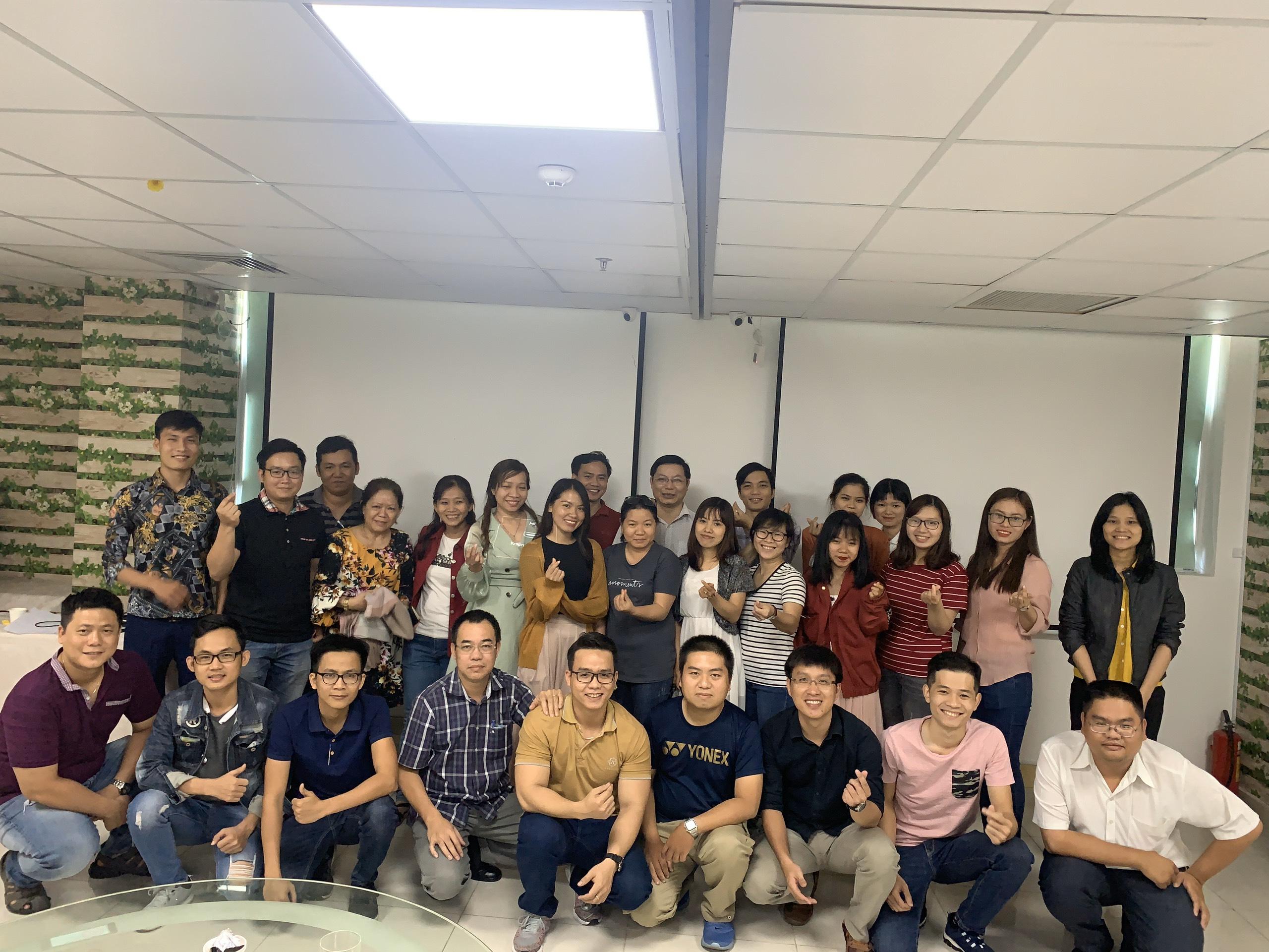 Khóa học đào tạo ISO 45001 tại Hồ Chí Minh diễn ra thành công