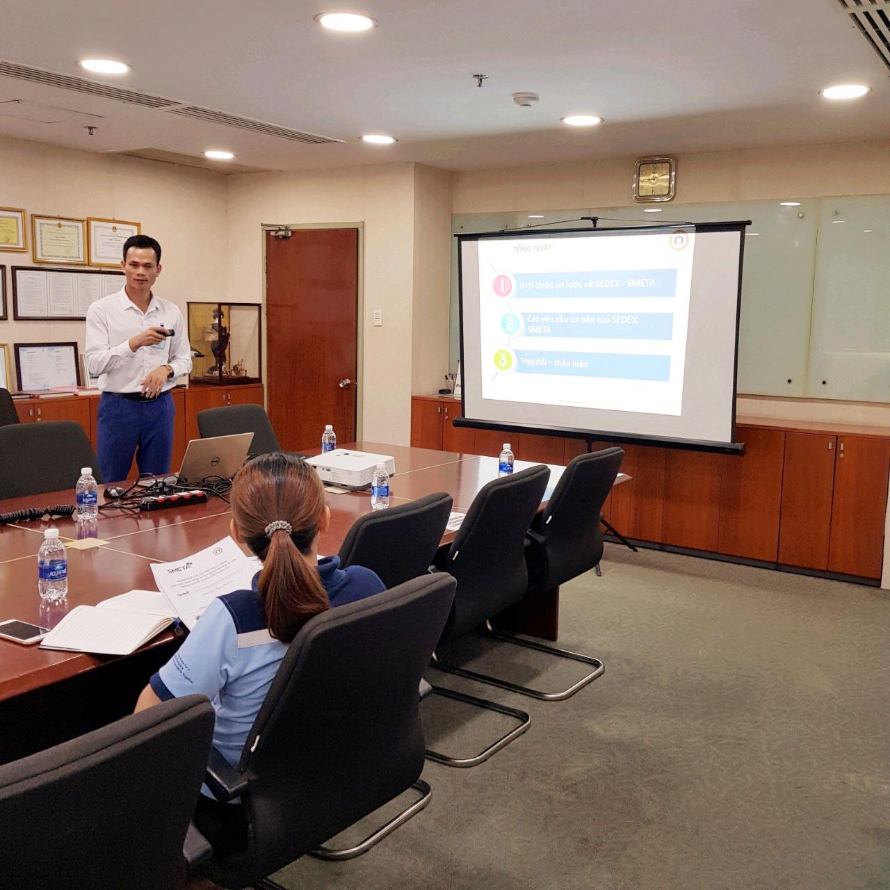 Đào tạo nhận thức và đánh giá nội bộ Smeta 4-pillar cho Công Ty TNHH OJITEX Hải Phòng